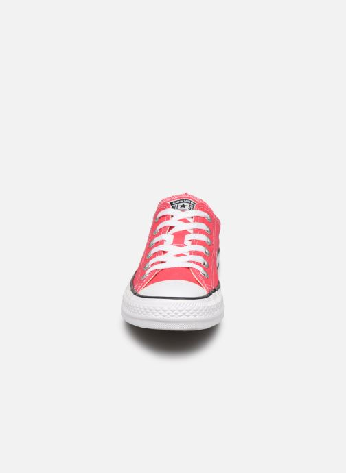 Baskets Converse Chuck Taylor All Star Seasonal Color Ox W Rose vue portées chaussures