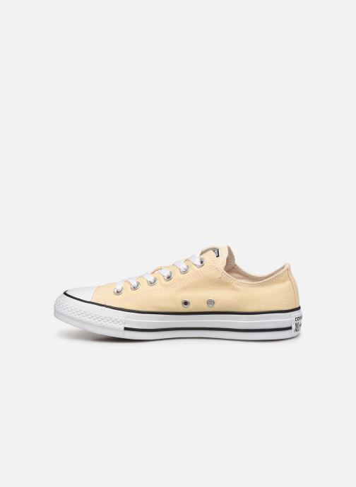 Deportivas Converse Chuck Taylor All Star Seasonal Color Ox W Amarillo vista de frente