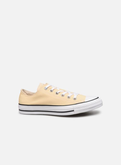 Deportivas Converse Chuck Taylor All Star Seasonal Color Ox W Amarillo vistra trasera