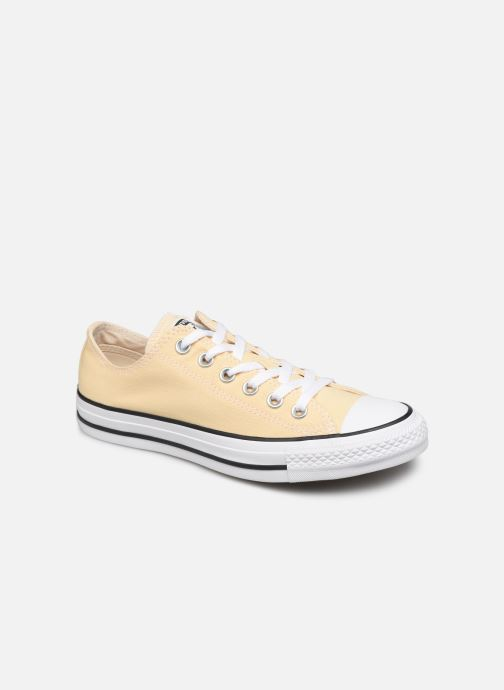Baskets Converse Chuck Taylor All Star Seasonal Color Ox W Jaune vue détail/paire