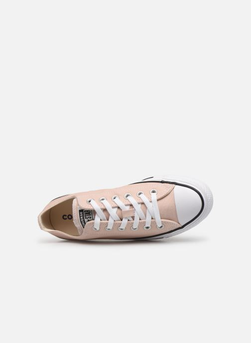 Sneakers Converse Chuck Taylor All Star Seasonal Color Ox W Beige immagine sinistra