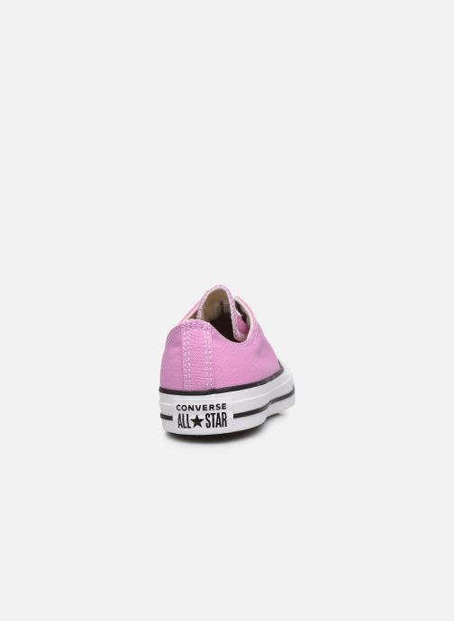 Baskets Converse Chuck Taylor All Star Seasonal Color Ox W Rose vue droite