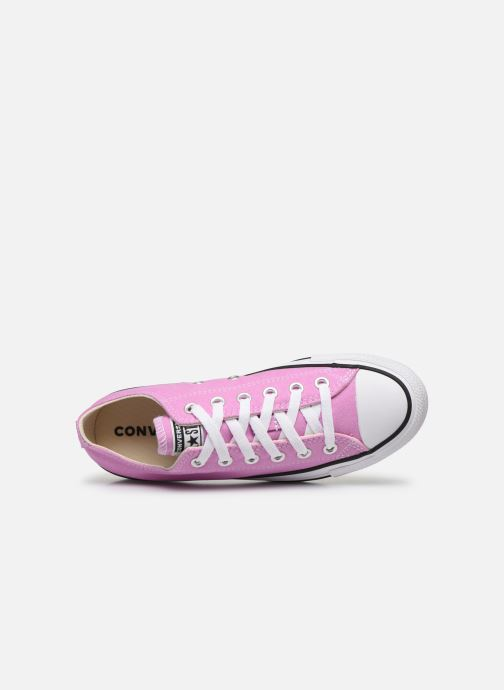 Baskets Converse Chuck Taylor All Star Seasonal Color Ox W Rose vue gauche