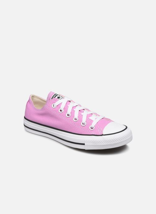 Baskets Converse Chuck Taylor All Star Seasonal Color Ox W Rose vue détail/paire