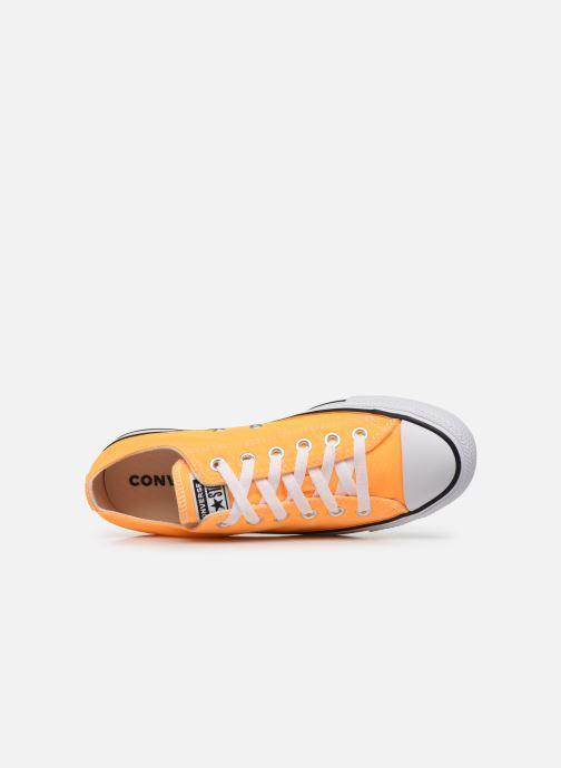 Baskets Converse Chuck Taylor All Star Seasonal Color Ox W Orange vue gauche