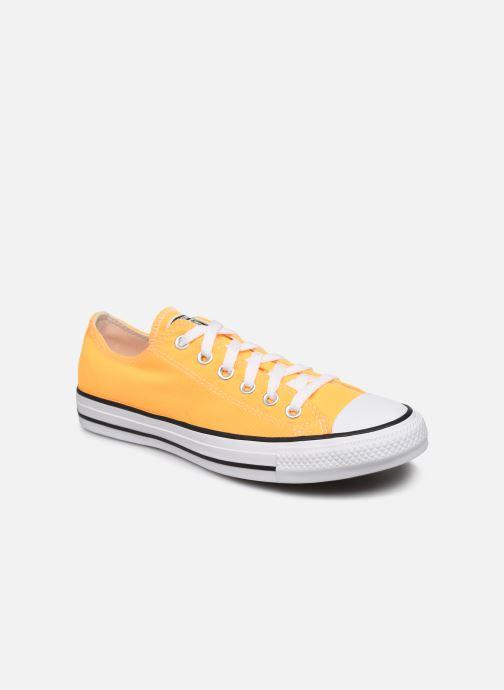 Baskets Converse Chuck Taylor All Star Seasonal Color Ox W Orange vue détail/paire