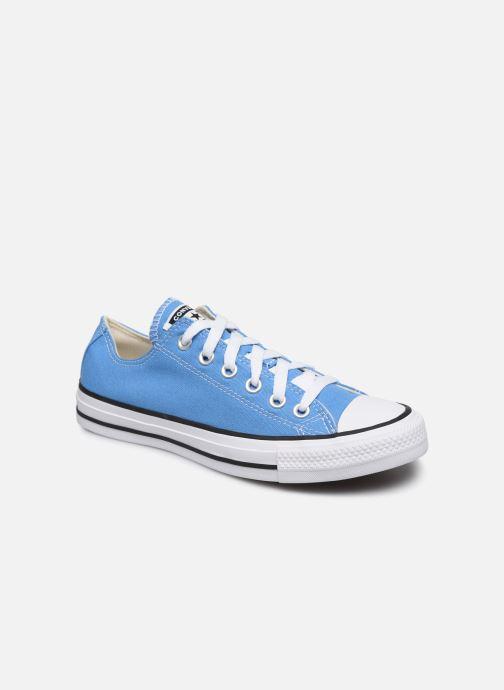 Deportivas Converse Chuck Taylor All Star Seasonal Color Ox W Azul vista de detalle / par