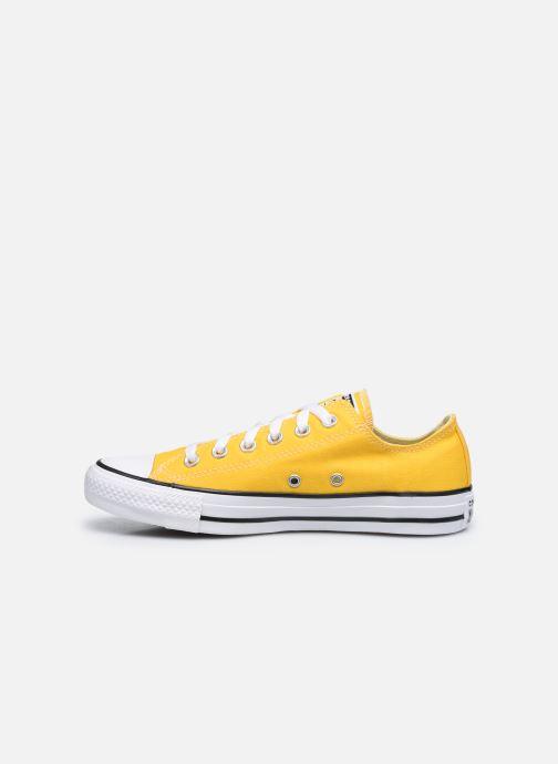 Sneaker Converse Chuck Taylor All Star Seasonal Color Ox W gelb ansicht von vorne