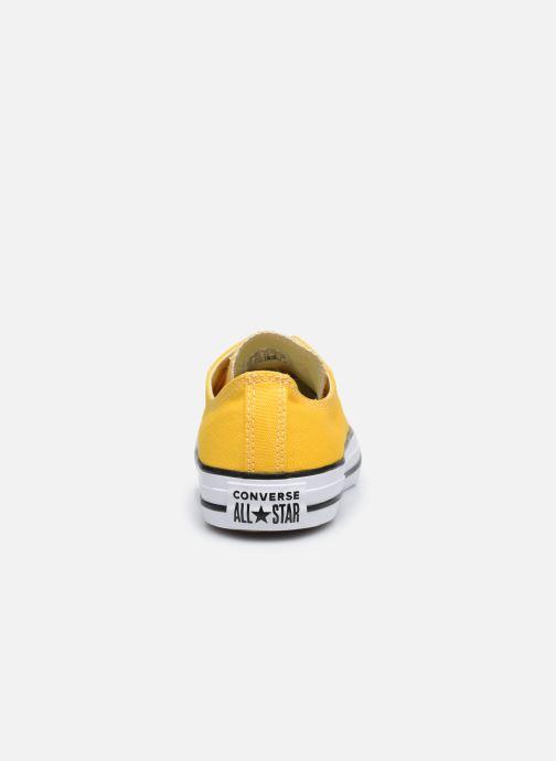 Sneaker Converse Chuck Taylor All Star Seasonal Color Ox W gelb ansicht von rechts