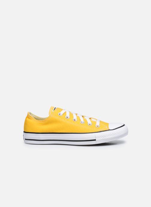 Sneaker Converse Chuck Taylor All Star Seasonal Color Ox W gelb ansicht von hinten