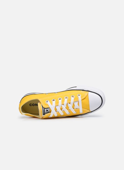 Deportivas Converse Chuck Taylor All Star Seasonal Color Ox W Amarillo vista lateral izquierda