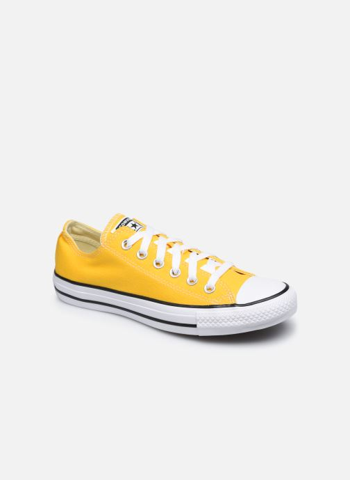 Deportivas Converse Chuck Taylor All Star Seasonal Color Ox W Amarillo vista de detalle / par