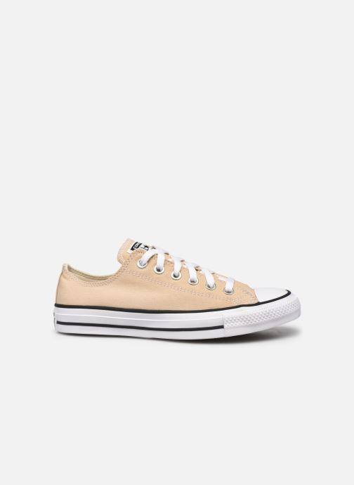Baskets Converse Chuck Taylor All Star Seasonal Color Ox W Beige vue derrière