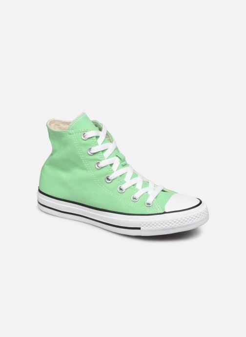 Deportivas Converse Chuck Taylor All Star Seasonal Color Hi W Verde vista de detalle / par