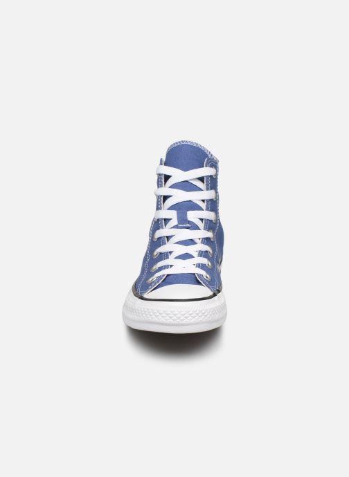 Sneaker Converse Chuck Taylor All Star Seasonal Color Hi W blau schuhe getragen