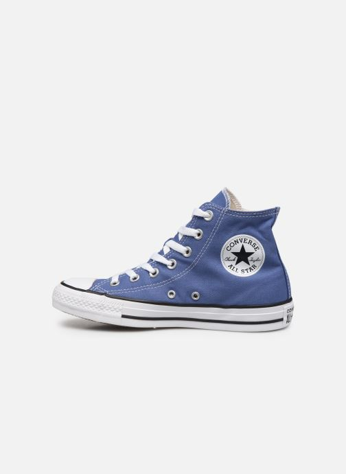 Sneaker Converse Chuck Taylor All Star Seasonal Color Hi W blau ansicht von vorne