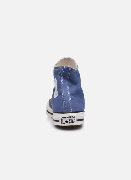 Sneaker Converse Chuck Taylor All Star Seasonal Color Hi W blau ansicht von rechts