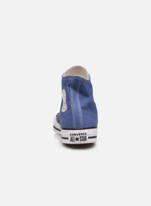 Sneaker Converse Chuck Taylor All Star Seasonal Color Hi W blau ansicht von rechts