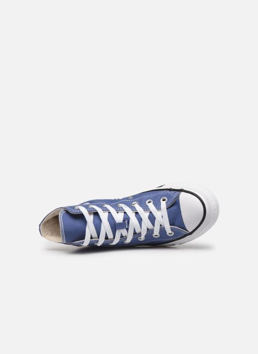 Sneaker Converse Chuck Taylor All Star Seasonal Color Hi W blau ansicht von links