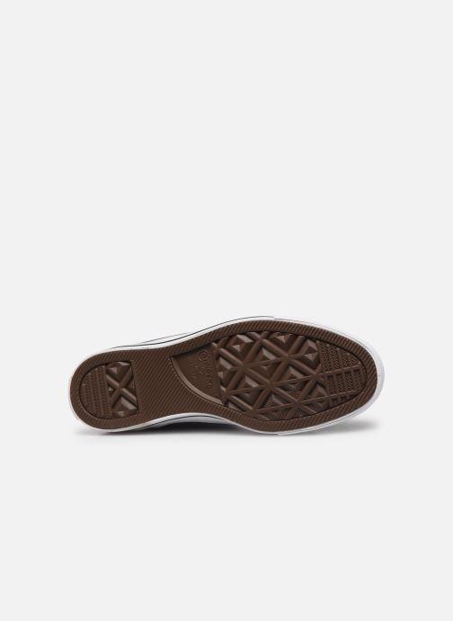 Sneaker Converse Chuck Taylor All Star Seasonal Color Hi W blau ansicht von oben