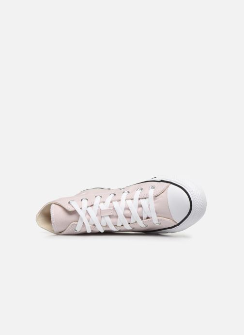 Trainers Converse Chuck Taylor All Star Seasonal Color Hi W Pink view from the left