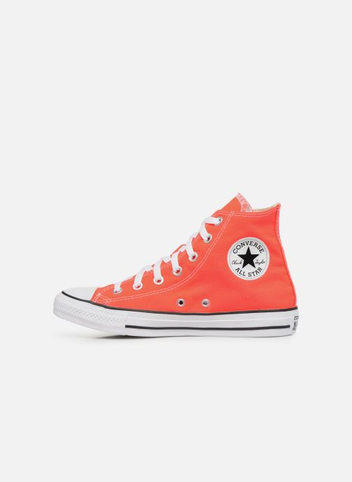 Baskets Converse Chuck Taylor All Star Seasonal Color Hi W Orange vue face