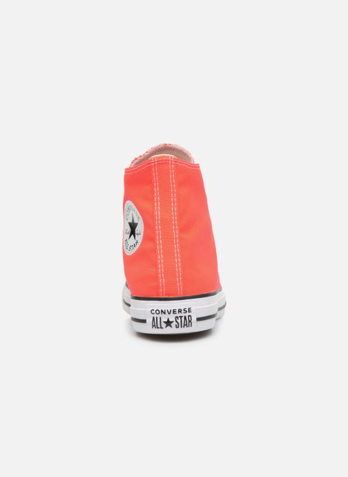 Trainers Converse Chuck Taylor All Star Seasonal Color Hi W Orange view from the right