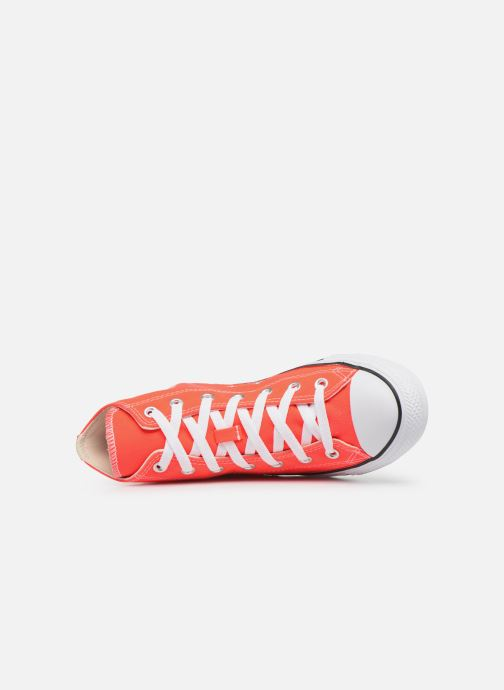 Baskets Converse Chuck Taylor All Star Seasonal Color Hi W Orange vue gauche