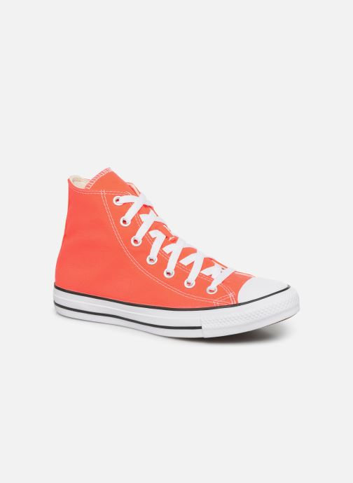 Baskets Converse Chuck Taylor All Star Seasonal Color Hi W Orange vue détail/paire