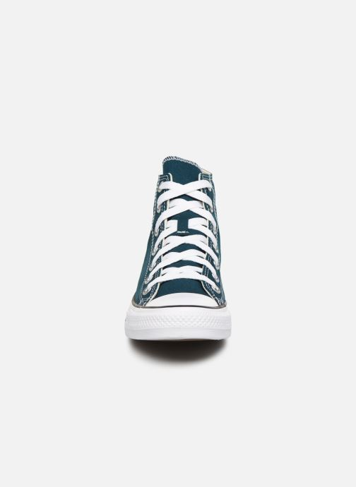 Baskets Converse Chuck Taylor All Star Seasonal Color Hi W Bleu vue portées chaussures
