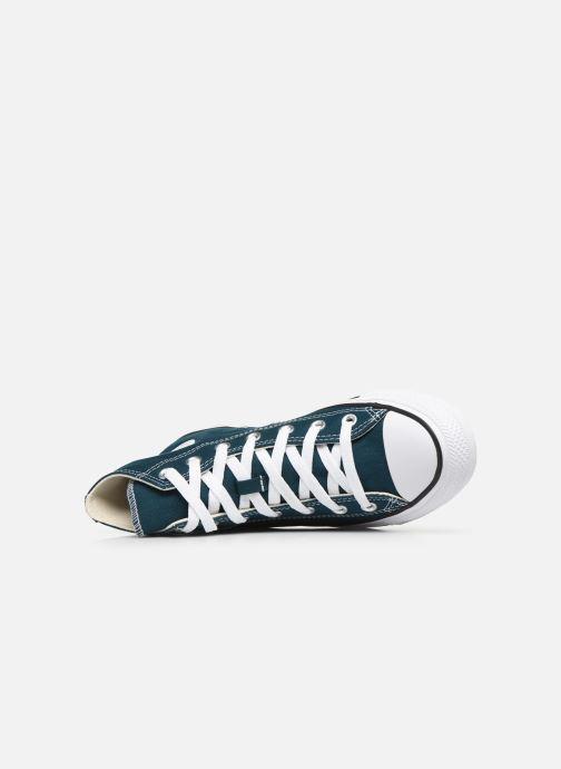 Sneaker Converse Chuck Taylor All Star Seasonal Color Hi W blau ansicht von links