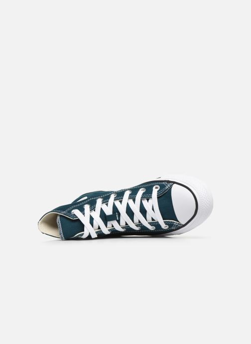 Baskets Converse Chuck Taylor All Star Seasonal Color Hi W Bleu vue gauche