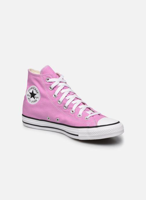 Deportivas Converse Chuck Taylor All Star Seasonal Color Hi W Rosa vista de detalle / par