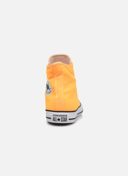 Sneakers Converse Chuck Taylor All Star Seasonal Color Hi W Orange Se fra højre