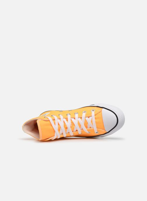 Baskets Converse Chuck Taylor All Star Seasonal Color Hi W Orange vue gauche