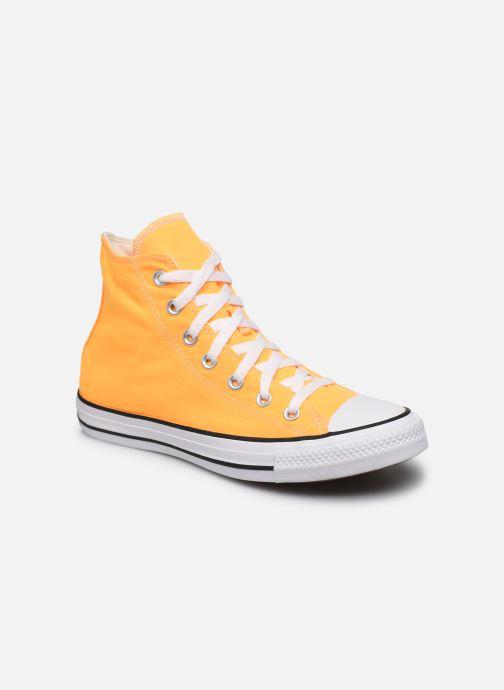 Baskets Converse Chuck Taylor All Star Seasonal Color Hi W Orange vue détail/paire