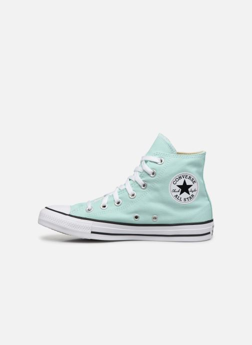 Sneakers Converse Chuck Taylor All Star Seasonal Color Hi W Verde immagine frontale