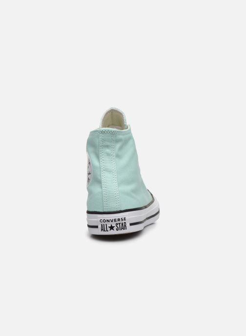 Sneakers Converse Chuck Taylor All Star Seasonal Color Hi W Verde immagine destra