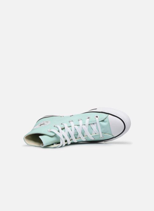 Sneakers Converse Chuck Taylor All Star Seasonal Color Hi W Verde immagine sinistra