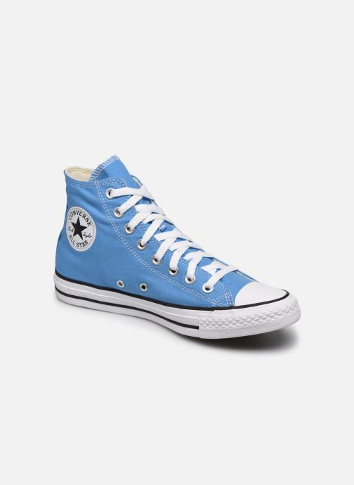 Baskets Converse Chuck Taylor All Star Seasonal Color Hi W Bleu vue détail/paire