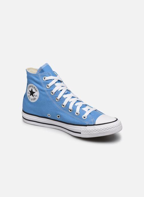 Sneakers Converse Chuck Taylor All Star Seasonal Color Hi W Blå detaljeret billede af skoene