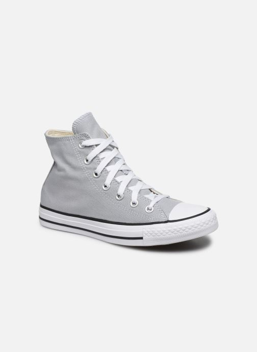 Baskets Converse Chuck Taylor All Star Seasonal Color Hi W Gris vue détail/paire