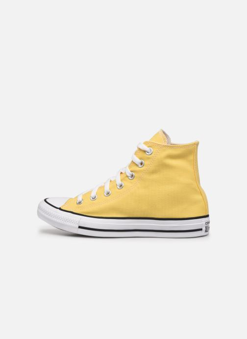 Deportivas Converse Chuck Taylor All Star Seasonal Color Hi W Amarillo vista de frente