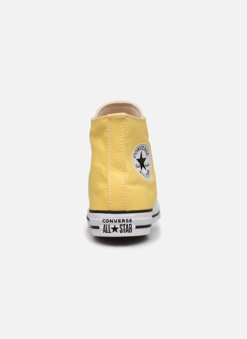 Deportivas Converse Chuck Taylor All Star Seasonal Color Hi W Amarillo vista lateral derecha
