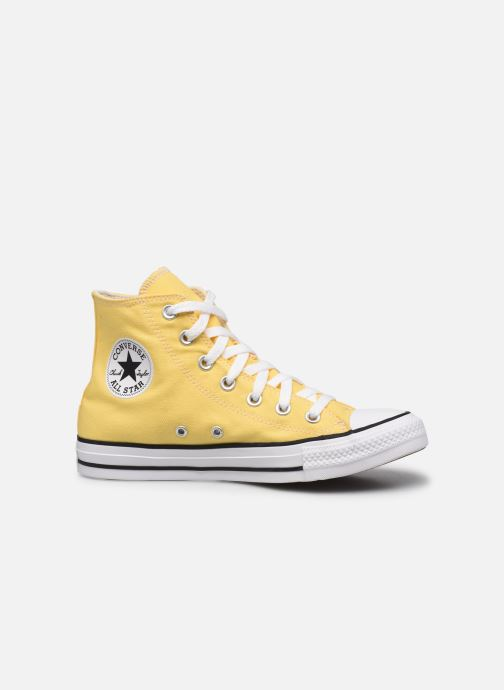 Baskets Converse Chuck Taylor All Star Seasonal Color Hi W Jaune vue derrière