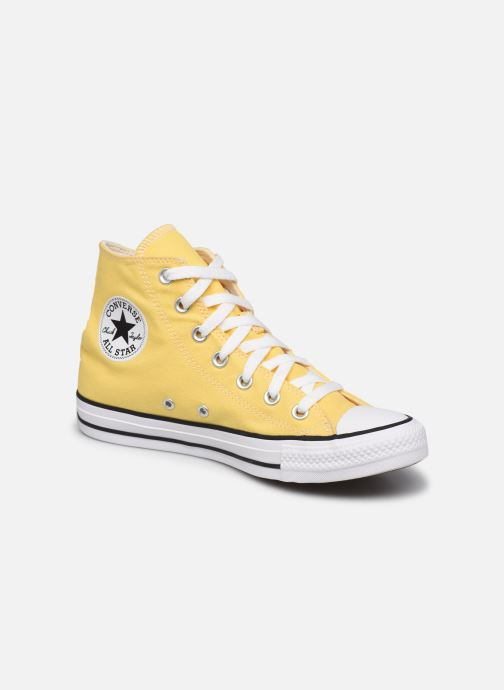 Baskets Converse Chuck Taylor All Star Seasonal Color Hi W Jaune vue détail/paire