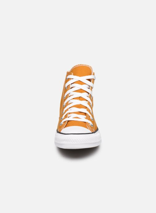 Baskets Converse Chuck Taylor All Star Seasonal Color Hi W Marron vue portées chaussures