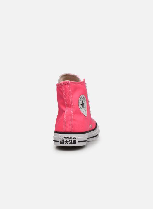 Sneaker Converse Chuck Taylor All Star Seasonal Color Hi W rosa ansicht von rechts