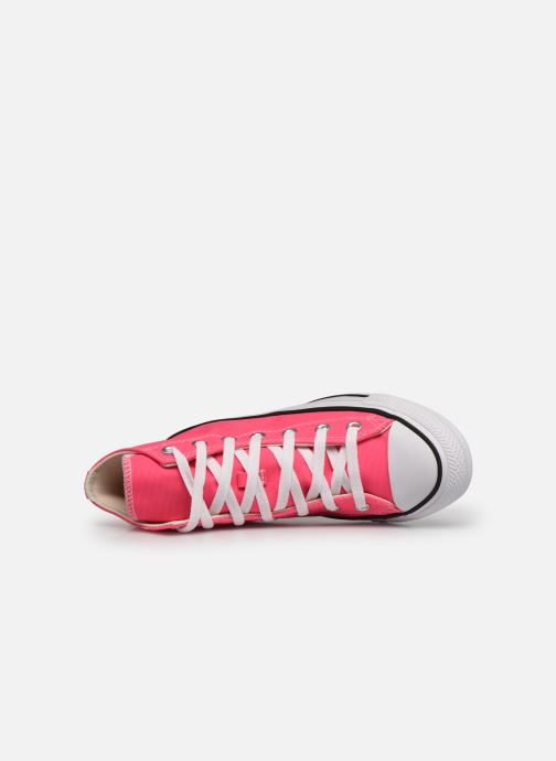 Sneaker Converse Chuck Taylor All Star Seasonal Color Hi W rosa ansicht von links