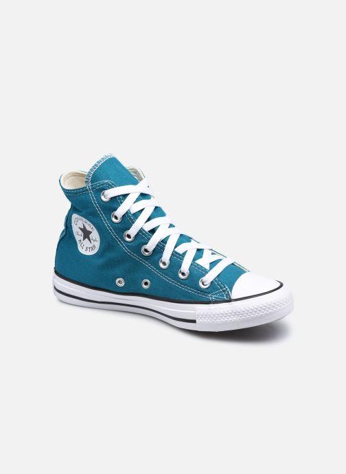 Baskets Converse Chuck Taylor All Star Seasonal Color Hi W Bleu vue détail/paire
